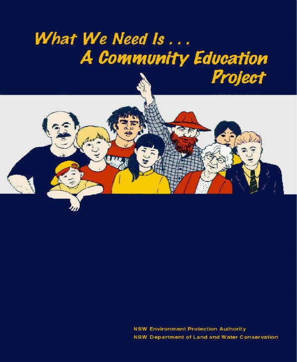 Community Education Project Plan