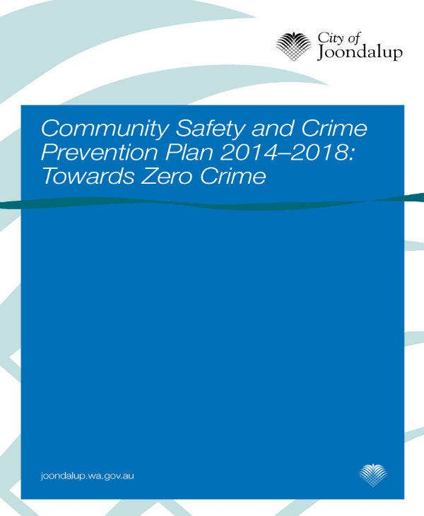 Community Safety and Crime Prevention Plan