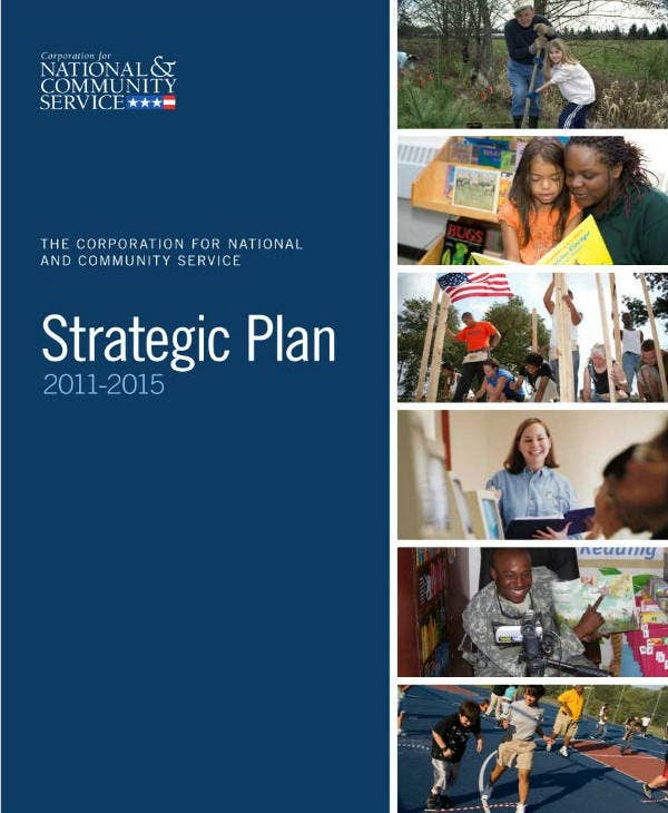 Community Service Strategic Plan