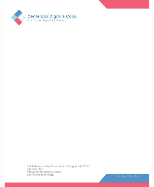 free letterhead templates for mac - 14 company letterhead templates psd ai free