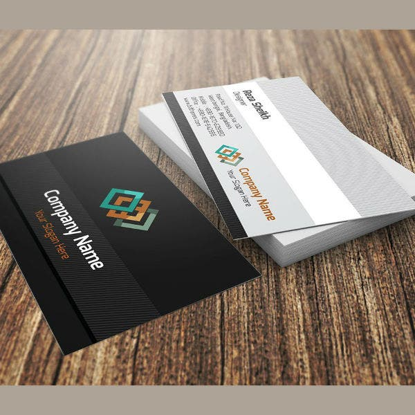 company-name-visiting-card-template
