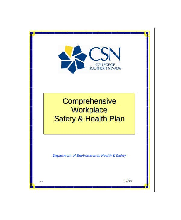 comprehensive workplace safety health plan1