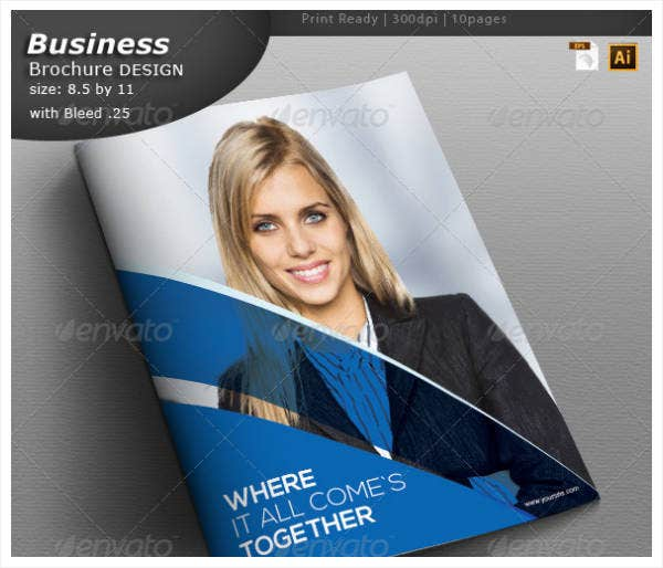 Consulting Brochure Design