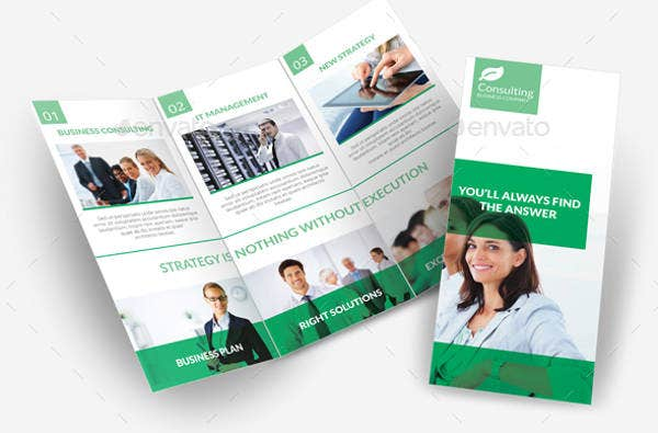 Consulting Services Tri-fold Brochure