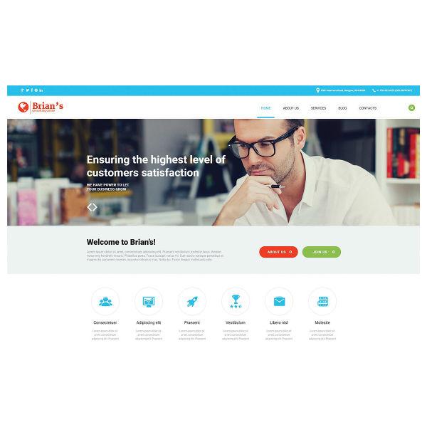 Consulting - WordPress Theme