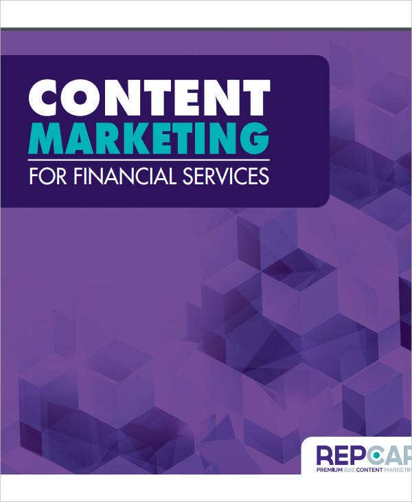 content marketing for financial services