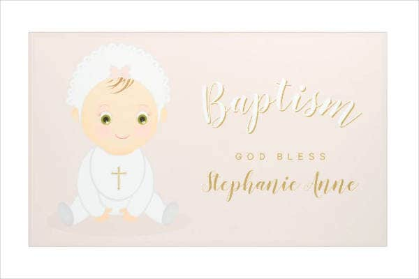 cool baptism banner design