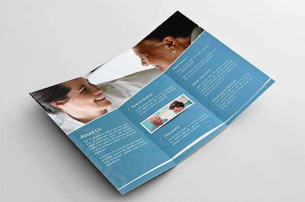 cool medical brochure template