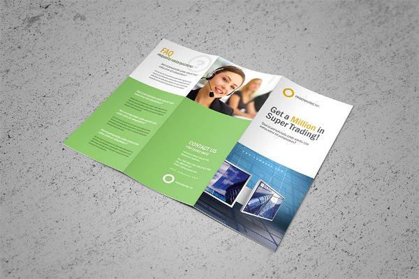 Corporate Tri-fold Brochure Example