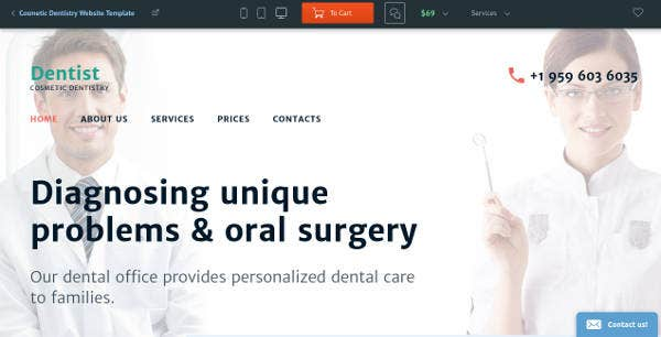 cosmetic-dentistry-clinic-website-template
