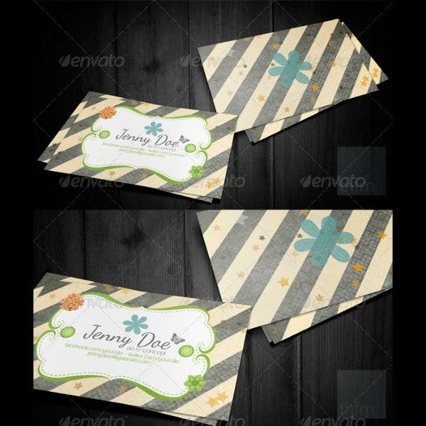 craft-business-and-visit-card-template