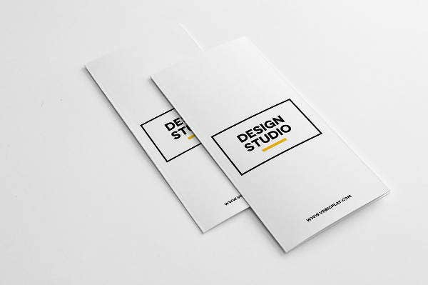 Creative Agency 3-Fold Brochure