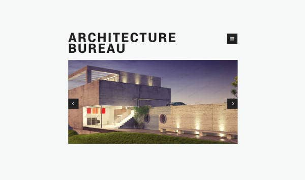 Creative Architecture Website Template