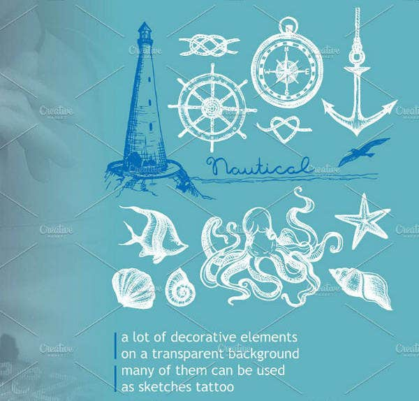 Creative Nautical Banner Design
