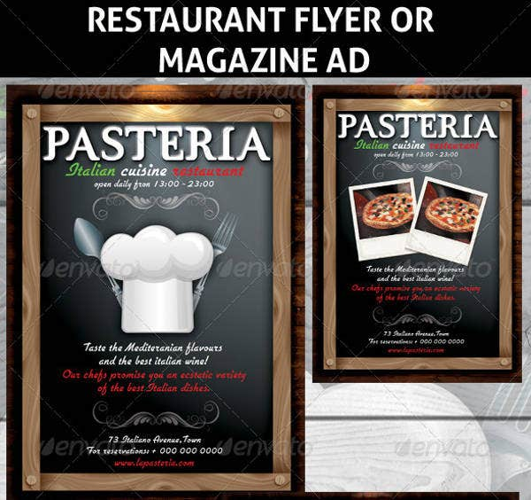 15  fine dining restaurant flyer templates