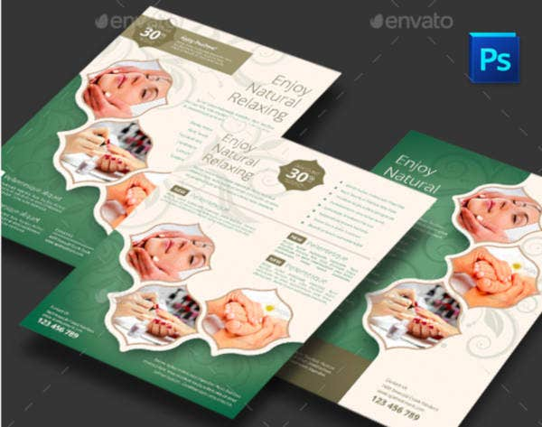 Creative Treatment Flyer Template