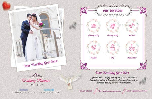 Creative Wedding Planner Flyer