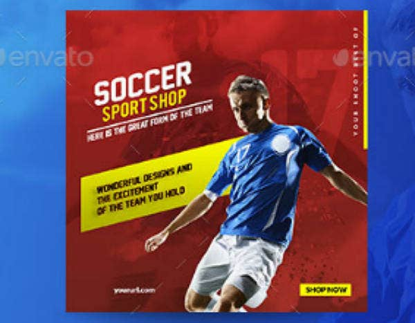 customizable sport shop banner template1