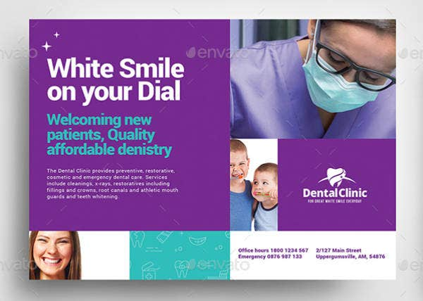 dental clinic flyer example
