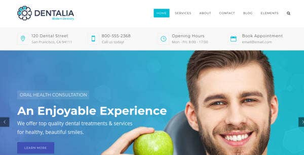 dentistry-clinic-website