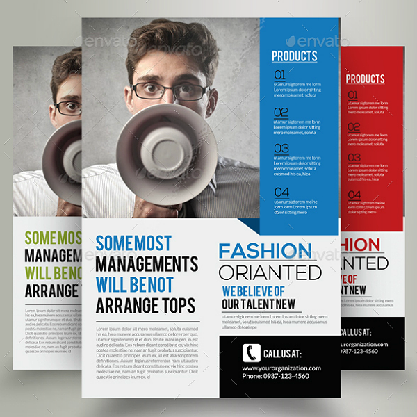 Design Hub Marketing Consultant Flyer Template