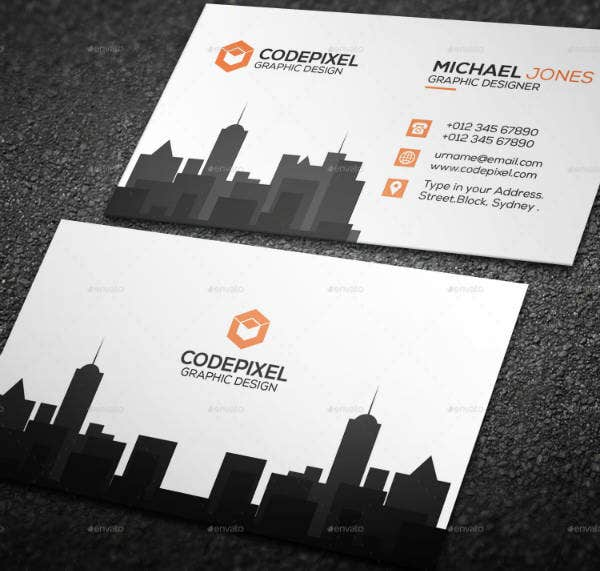 Designed Real Estate Business Card