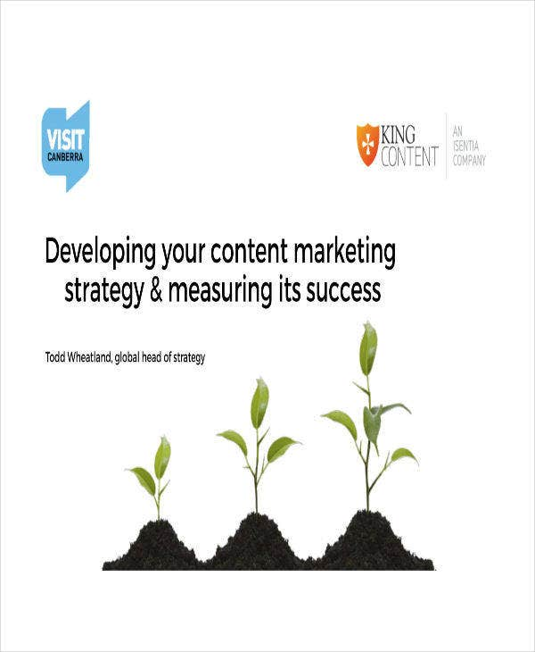 developing content marketing strategy