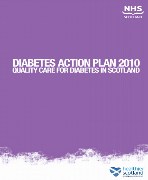diabetes action plan 2010