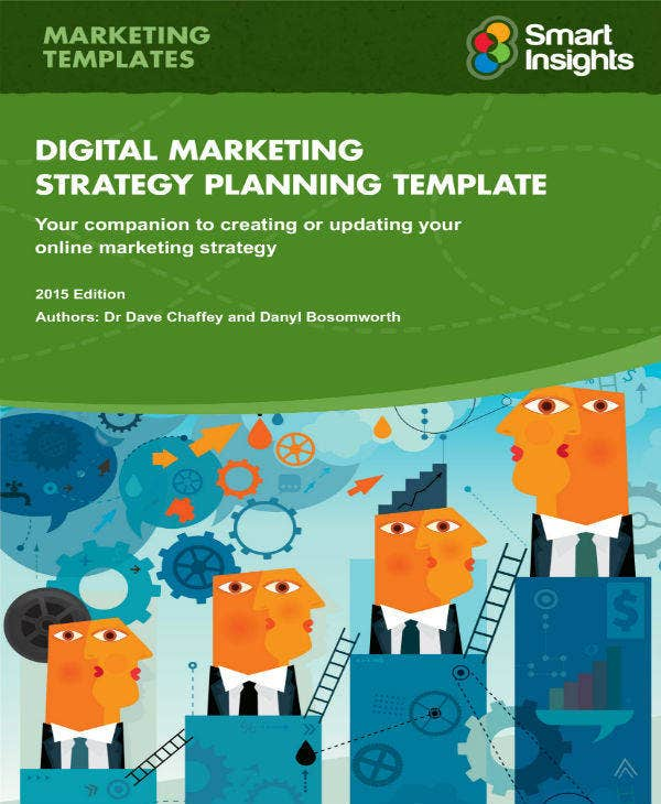 Digital Marketing Plan Format