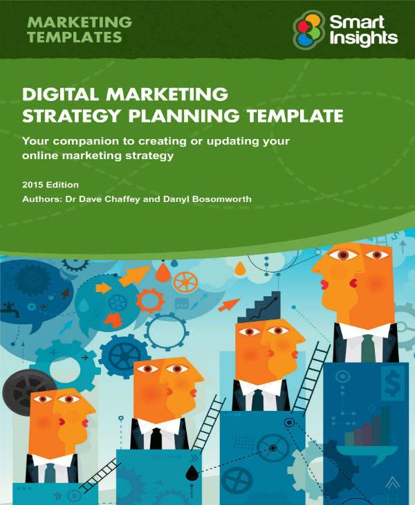 digital marketing plan format