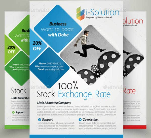 Digital Solution Corporate Strategy Flyer