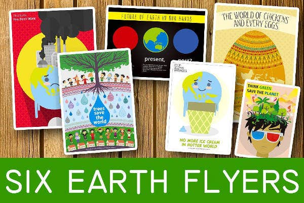 earth flyers bundle