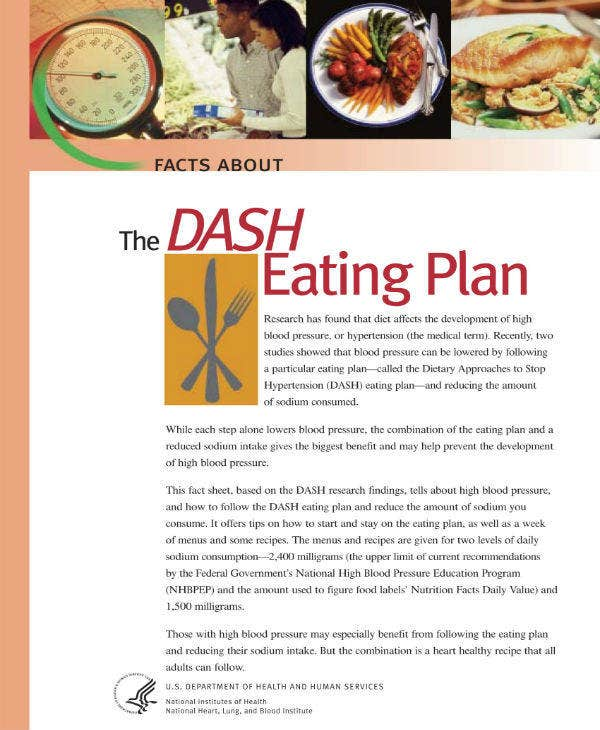 eating plan example