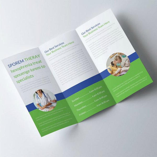 25+ Medical Brochure Template PSd, InDesign and EPS Format ... |Medical Tri Fold Brochure Template