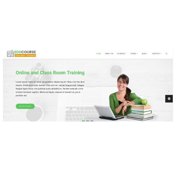 Edu Course - HTML Template For Education And Online Training
