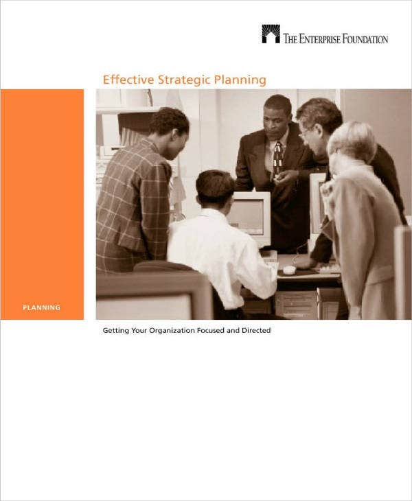 effective business strategic planning