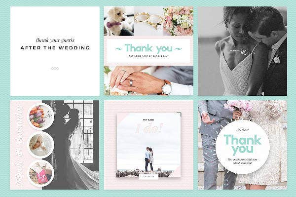 elegant-bridesmaid-wedding-thank-you-template