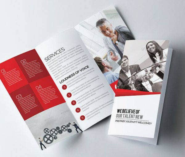 Elegant Job Agency Brochure Template