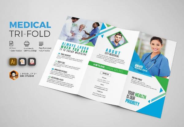 Elegant Medical Brochure Template