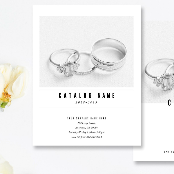 Elegant Silverware Products Brochure Template