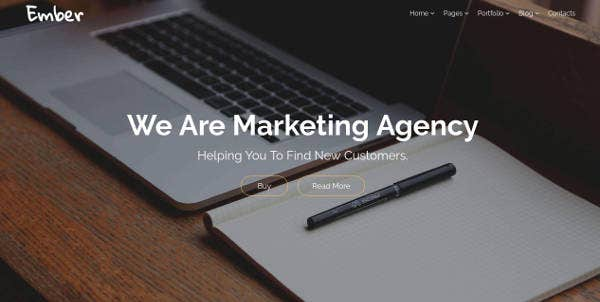 ember-marketing-agency-website-template