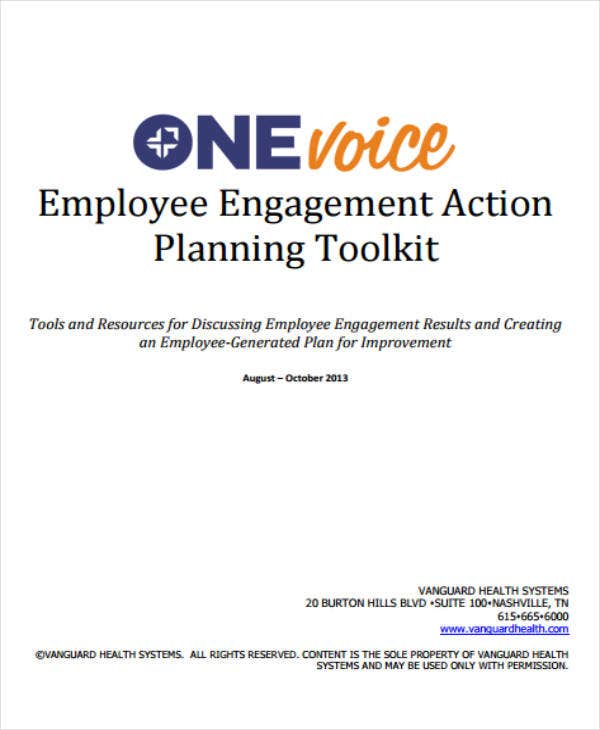 employee engagement action planning