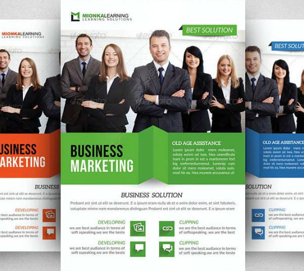 employment agency jobs fair flyer brochure