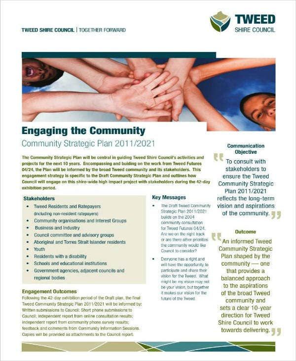 Engagement Strategy for Community Strategic Plan