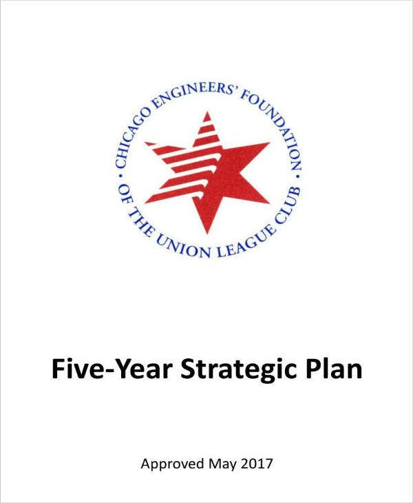 Engineers Foundation 5 Year Strategic Plan
