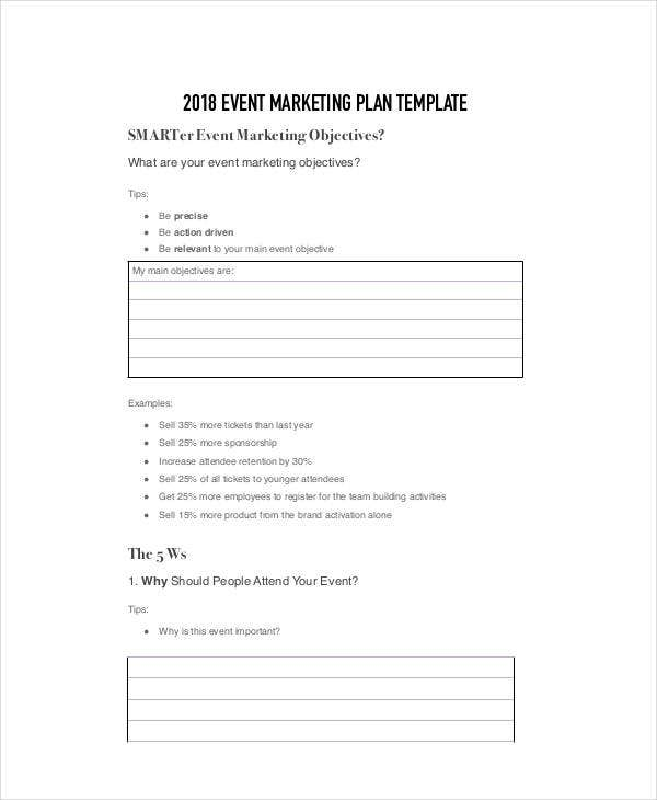 event marketing plan template2
