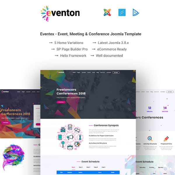 eventon conference website template
