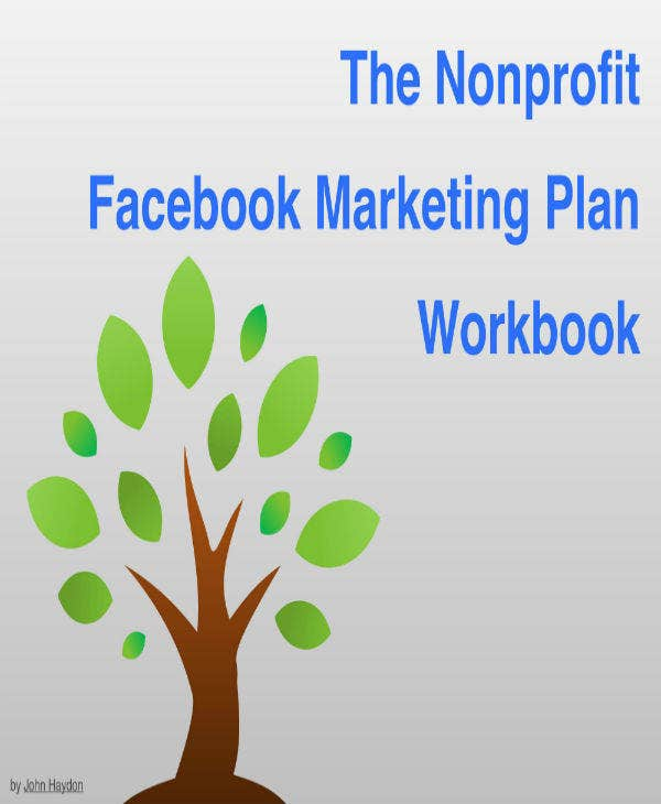 facebook nonprofit marketing plan template