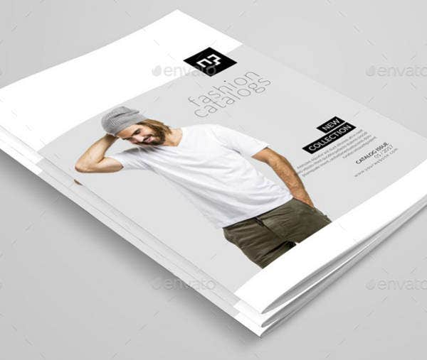 Fashion Products Catalog Brochure Template