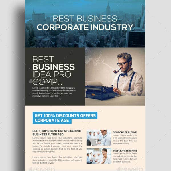 Finance Accounting Business Flyer Template